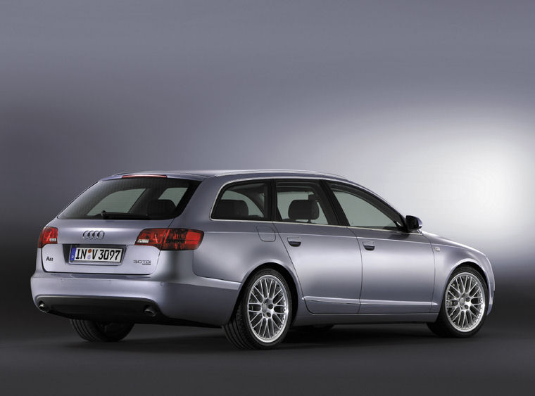 2007 audi a6 avant picture pic image. Black Bedroom Furniture Sets. Home Design Ideas