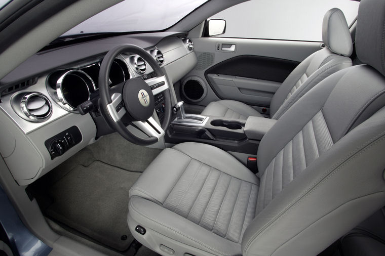 2006 Ford Mustang Gt Front Seats Picture Pic Image