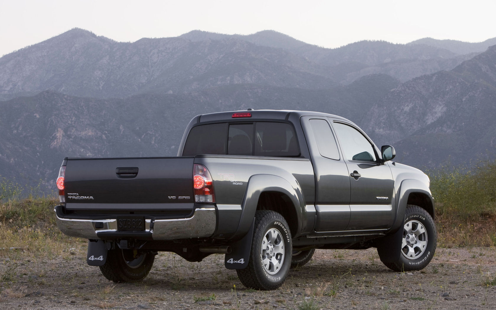 Tacoma Back Pages >> Toyota Tacoma, PreRunner, AWD, V6 - Free Widescreen Wallpaper / Desktop Background Picture